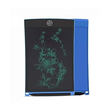 Tableta de Escritura LCD 10.5 Inch, LCD Tablero de Dibujo Gráfica Pizarra Magica de Mensaje Memo Pad Electrónico con Lápiz Regalos para … (black) ...