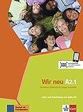Wir Neu Zweibandig: Lehr- Und Arbeitsbuch A2.1
