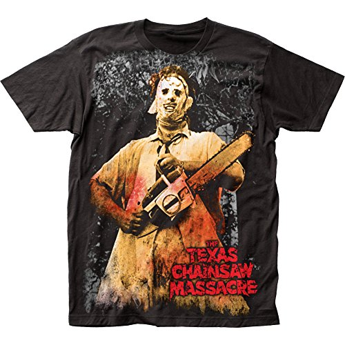 Texas Chainsaw Massacre Horror Thriller Movie Scary Adult T-Shirt Tee