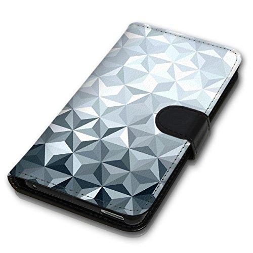 Wallet Book Style Flip Handy Tasche Case Schutz Hülle Schale Motiv Etui für Apple iPhone 4 / 4S - Design Flip MVD151