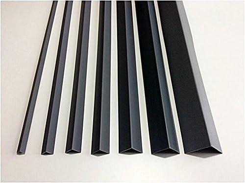 TMW/Profiles Cezar Protection en PVC pour angles et coins de murs Noir Angle /à 90/° 1/m Diff/érentes tailles disponibles