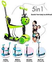 Niños Scooter - Diseño Versátil Para 1-10 Años De Edad,Pink ...