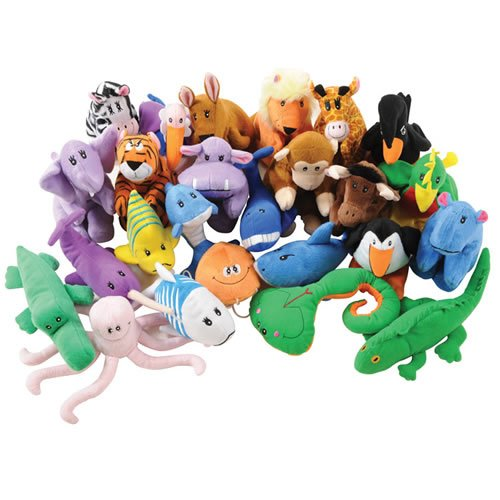 Kaplan ABC Animal Jamboree Puppet Set ()