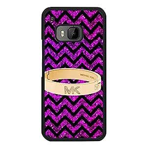 Colourful Design Michael Kors Logo Phone Case for Htc one M9 Luxury Michael Kors Series Phone Case