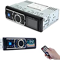 AutoLover® 12V Bluetooth Vehicle MP3 Audio Player Car Stereo In-Dash FM Radio Support USB SD card