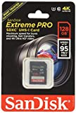 Sandisk Extreme Pro - Flash memory card - 128 GB - SDXC UHS-I (SDSDXP-128G-A46)