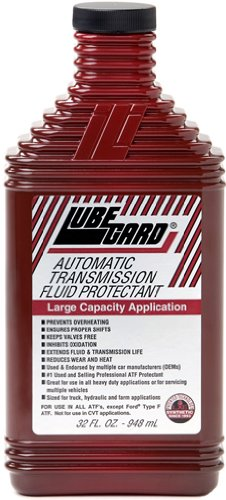 Lubegard 50902 Automatic Transmission Fluid Protectant, 32 oz. (Wheel Drive Performance Front)