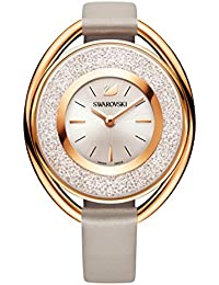 Crystalline Oval Rose Gold-Tone Ladies Watch 5158544