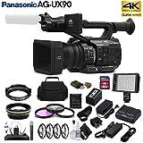 Panasonic AG-UX90 4K/HD Professional Camcorder (AG-UX90) Studio Starter Bundle