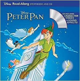 peter pan read along storybook and cd disney book group disney