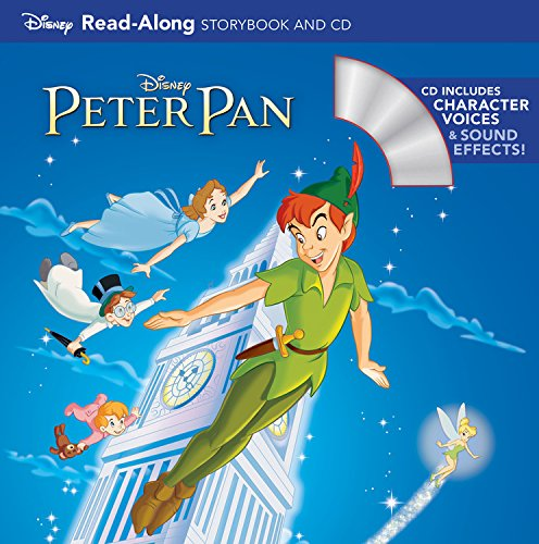 Peter Pan Read-Along Storybook and CD (Voices Of Jake And The Neverland Pirates)
