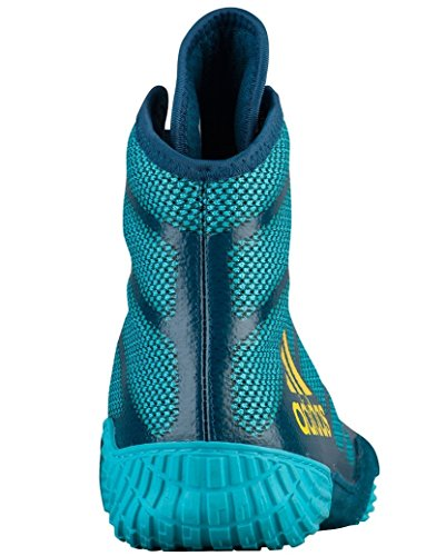 Performance Men's Adizero XIV Wrestling Wrestling adidas Yellow Shoes Aqua Blue UOqw1qdS