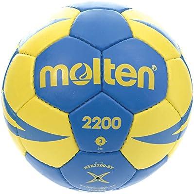 Molten HX2200 - Balón de Balonmano, categoría cadetes, Amarillo y ...