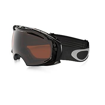 oakley persimmon goggles  Amazon.com : Oakley Airbrake(Jet Black/Black Iridium) : Ski ...