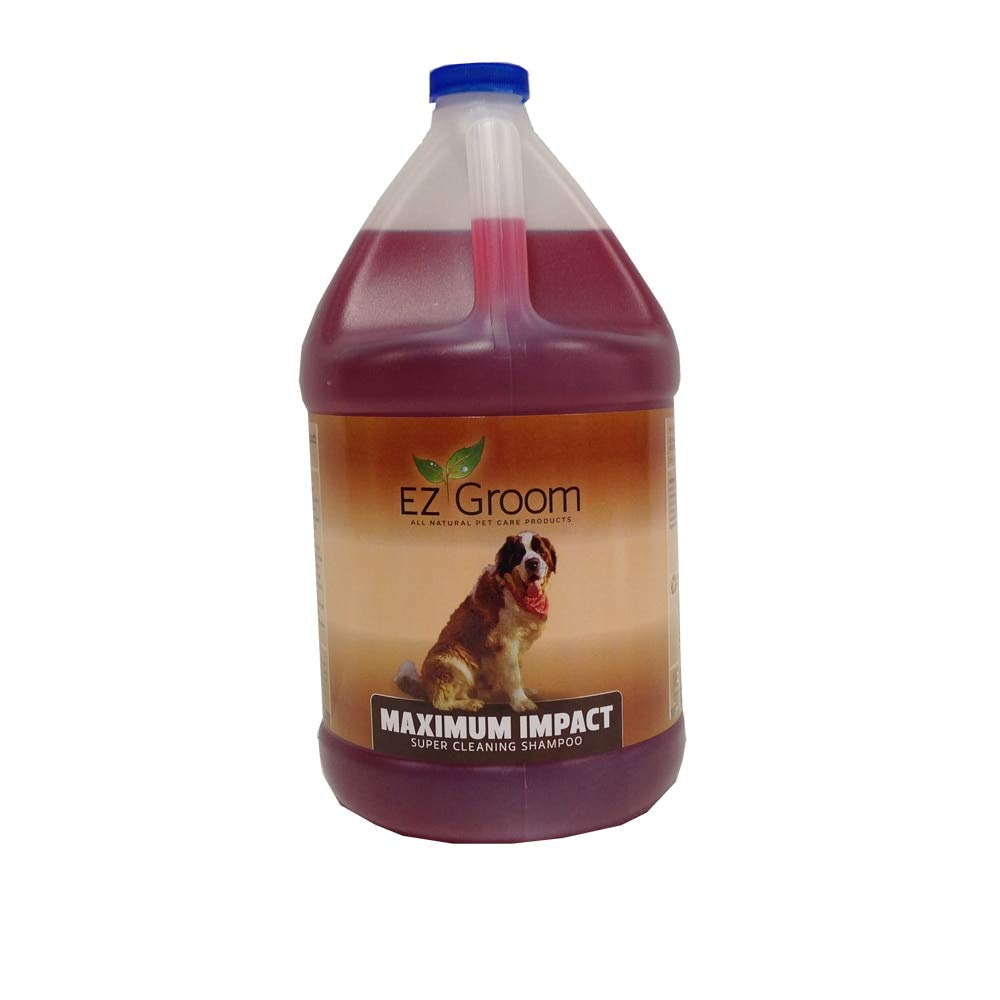 EZ Groom Maximum Impact Dog Shampoo Gallon - Concentrated
