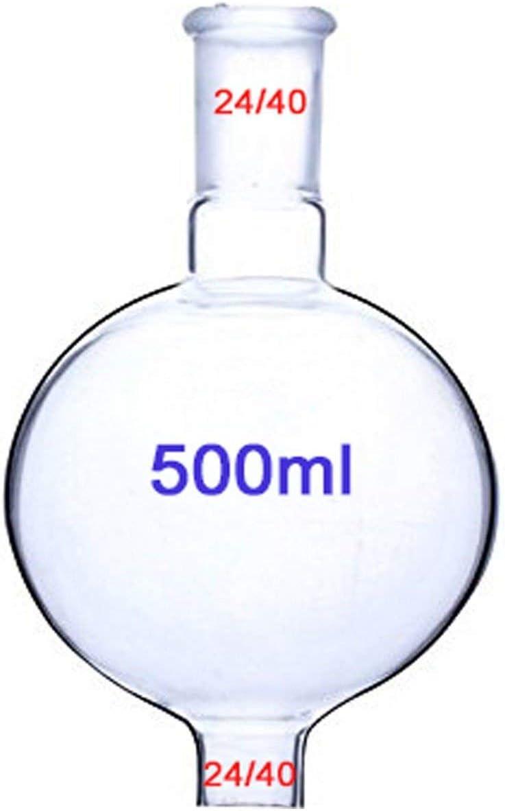 Equipo de cristalería purificador de destilación de laboratorio con condensador Instrumento de vidrio de ...