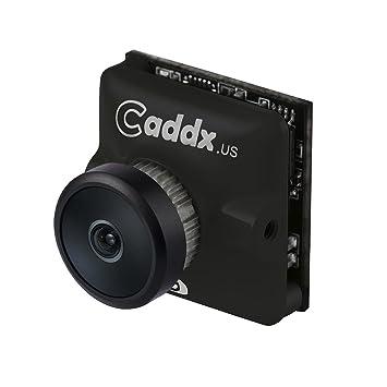Caddx Turbo Micro S1 FPV cámara - Negro 2.3 Lente: Amazon.es: Juguetes y juegos
