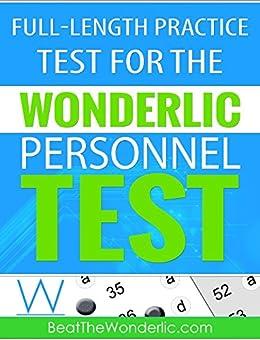 Amazon.com: A Full-Length Practice Test for the Wonderlic ...