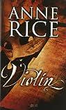 Violín par Rice