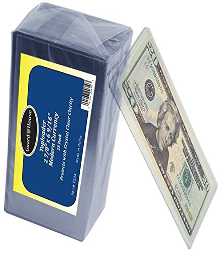 Guardhouse Modern Currency Toploader 25 Pack