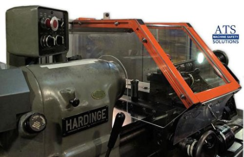 Lathe Guard for Hardinge HLV / Tool Room Lathes, ATS Safety by ATS Machine Safety Solutions