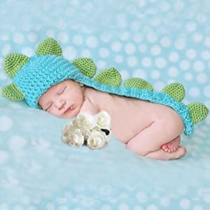 Amazon.com: Cute Baby Infant Dinosaur Costume Photo