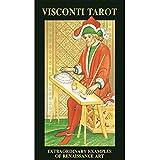 Anya Nana Visconti Tarot w/ Gold Foil New in Box Mystic Symbolism Card 4.75 in x 2.75 in