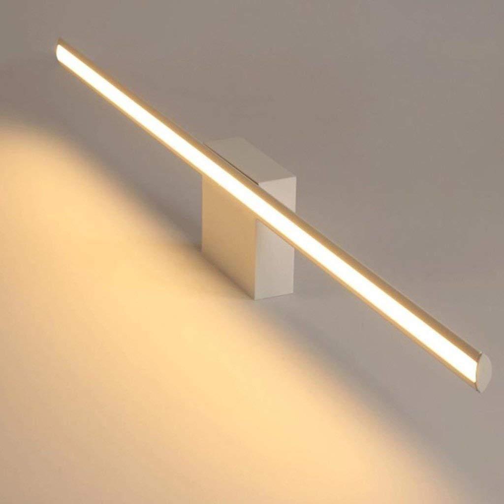 Fenciayao LEDランプ鏡の鏡、バスルームのランプ&ランタンバスルームメイクアップミラーミラーウォールランプライトシンプルなトイレバスルームライト。 (Color : 40cm)  40cm B07RJHW64T