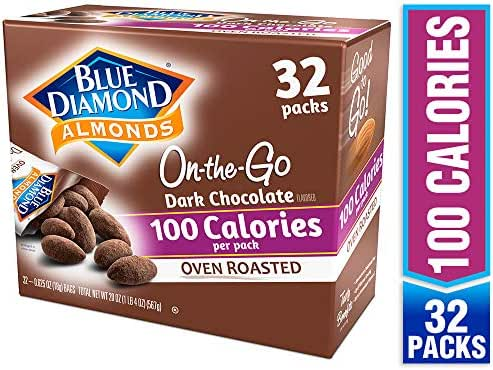 Nuts & Seeds: Blue Diamond 100 Calorie On-the-Go Bags