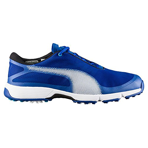 Puma Golf Men's Ignite Drive Sport Shoes, True Blue-Puma White-Blue Danube, 11 Medium US