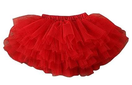 Alien Storehouse [Rojo-3] Falda de Tutú para Niña Falda de ...