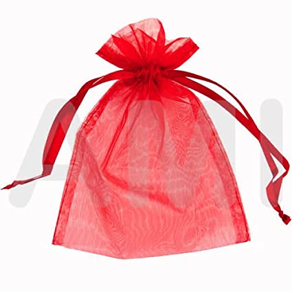 WEDDING FAVOUR BAGS BLACK 100 ORGANZA BAGS 12cm X 18cm FAVOURS 18 COLOURS AVAILABLE. JEWELLERY GIFTS