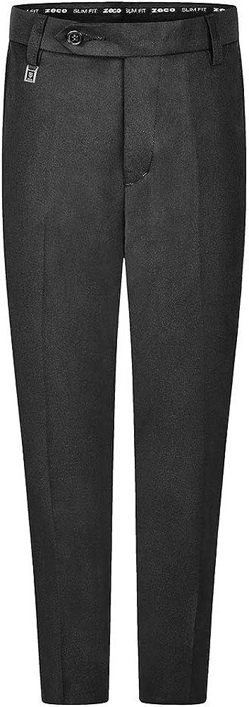 Zeco School Uniform Boys Long Leg Slim Fit Trouser