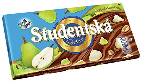 Orion Studentska Milk Chocolate Pear 180g / 6.3 oz