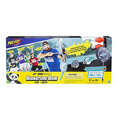 Nerf Sports Dude Perfect Signature Bow by Hasbro
