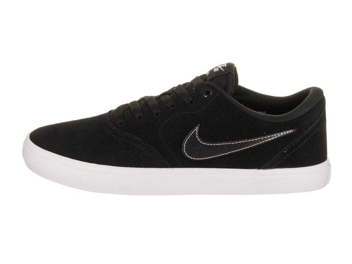 Nike Unisex SB Check Solar Black/Black White Skate Shoe 8.5 Men US / 10 Women US by Nike (Image #2)