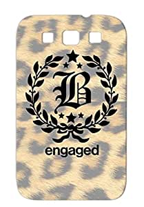 Be Engaged Black For Sumsang Galaxy S3 Symbol Be Funny Miscellaneous Stars Design Funny Ornament Art Engage Case