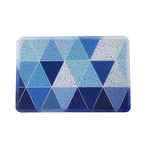 Dazzle Digital Printed Floor Mat Absorbent Anti-Skid Pad Doormats Bathtub Mats,15.7