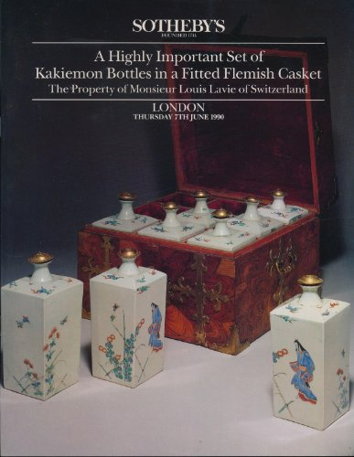 A Highly Important Set of Kakiemon Bottles in A Fitted for sale  Delivered anywhere in USA