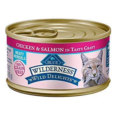 Cat Food Blue Buffalo Wilderness Wild Delights High Protein Grain Free,... [tag]