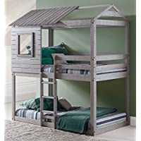 DONCO Kids 1370TTLG Series Bed, One Size, Light Gray