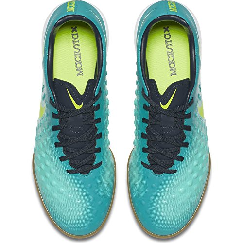 Nike Heren Magistax Onda Ii (ic) Voetbal Cleat Rio Blauwgroen / V-obsidiaan-clear Jade