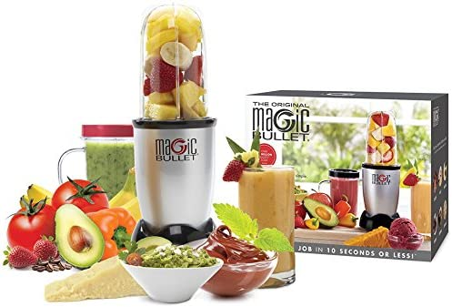 Magic Bullet MBR2114 Batidora de vaso 200W Negro, Acero inoxidable ...