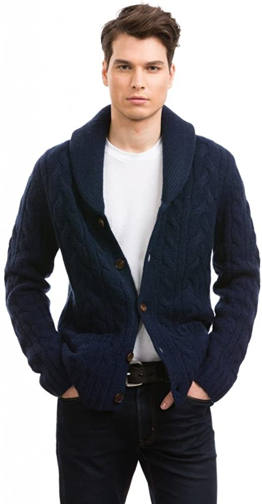 Citizen Cashmere Shawl Collar Cardigans 100 Tibetan Yak Wool At Amazon Men S Clothing Store