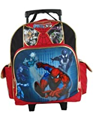 Spiderman 12 Toddler Rolling Backpack - Spider Sense