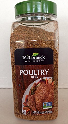 McCormick Gourmet POULTRY RUB 10.25 oz OU KOSHER Certified NON GMO by McCormick
