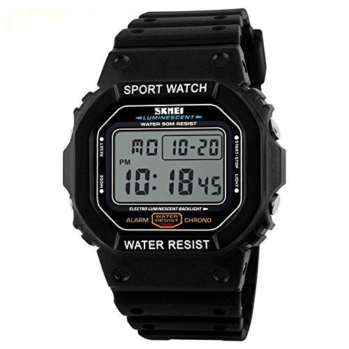 SKMEI 1134 Men Sport LED Digital Waterproof Wrist Watch - 1