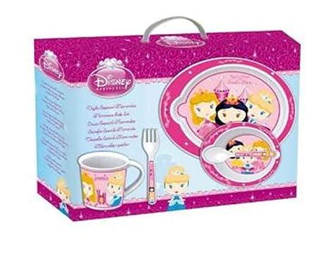 Set menaje para microondas Princesas Baby cuenco plato taza ...