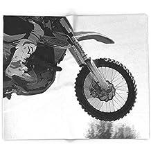 """Society6 Motocross Dirt-Bike Racer 51"""" x 60"""" Blanket"""