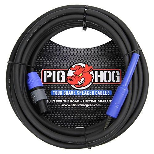 Pig Hog 25ft Speaker Cable, SPKON to 1/4